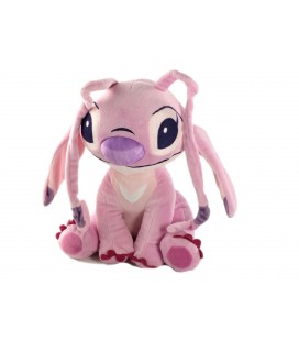 Doudou peluche Angel Lilo et Stitch Disney PTS SRL assis 30 cm