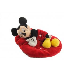 Peluche doudou Mickey Coeur I love you Disney Nicotoy