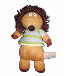 Latitude Enfant Peluche doudou Herisson Hugo 22 cm tricot laine