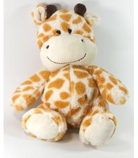 Peluche doudou Girafe marron blanc Althans Club 26 cm assis