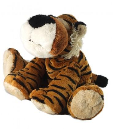 Peluche doudou tigre marron noir Althans Club assis 25 cm