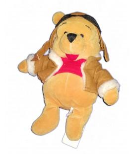 COLLECTOR Peluche Doudou Winnie Aviateur Aviator Pooh 22 cm Disney Store