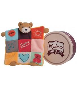 kaloo-sos-doudou-ours-plat-patchwork-super-coeur-soleil-dos-plume-orange