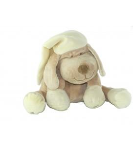 VENDU SANS BOITIER Peluche doudou chien beige jaune Doodoo Babiage