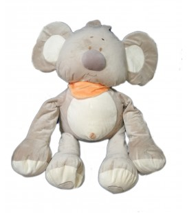 Grande peluche doudou XXL Kiki Koala Playkids 75 cm