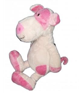 Doudou Peluche cochon rose Funny 38 cm Baby Nat