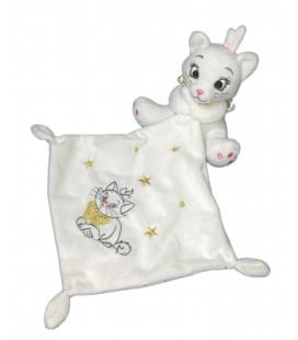 Doudou Marie Aristochats Mouchoir blanc Disney Baby Nicotoy Simba