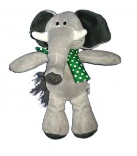 Doudou peluche figurine Elephant Kinder Ferrero 26 cm