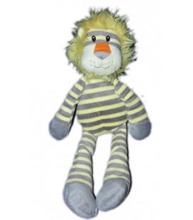 doudou-peluche-lion-gris-jaune-carrefour-cmi-35-cm