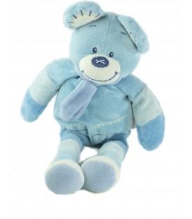 Doudou Souris bleue Bengy 32 cm