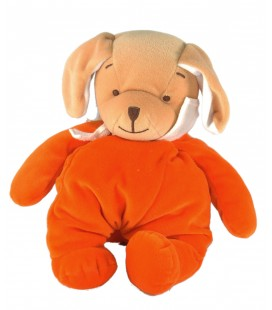 Doudou chien orange Bengy 26 cm
