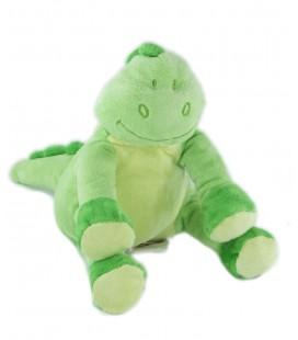 Doudou dragon dinosaure vert Bengy 20 cm