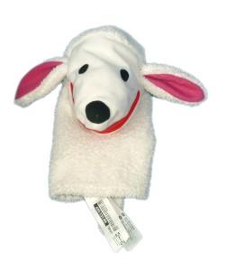 Peluche Doudou Marionette Mouton agneau Caniche Chien blanc IKEA