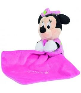 Disney Doudou Minnie Gid A Rose 15 cm Luminescent brille dans la nuit mouchoir etoile