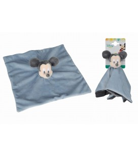 Doudou plat bleu gris Mickey Disney Baby 587/5848 Kiabi Nicotoy Simba