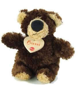 Peluche doudou ours marron beige Trudi Bussi 16 cm
