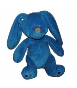 Doudou peluche lapin bleu gris Simba 26 cm 569/0028
