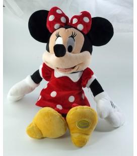 Peluche doudou Minnie 38 cm original Disney Store Exclusive robe rouge