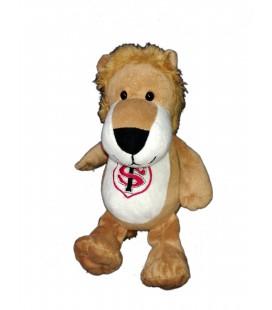 Doudou peluche mascotte lion ST Stade Toulousain 28 cm Brume de reve