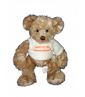 Peluche ours beige Gulliver Bear Easy Jet 26 cm