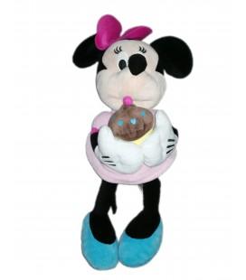 Peluche doudou Minnie 45 cm gateau anniversaire Disney PTS SRL