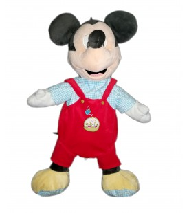 Peluche doudou Range pyjama Mickey arrosoir radis Disney Nicotoy