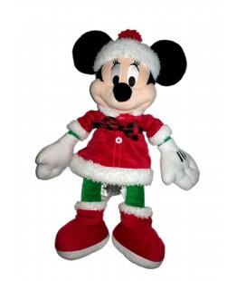 Peluche doudou Minnie Mère Noël 45 cm Disney Store