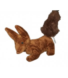 Doudou peluche Renard marron Le Petit Prince 25 cm