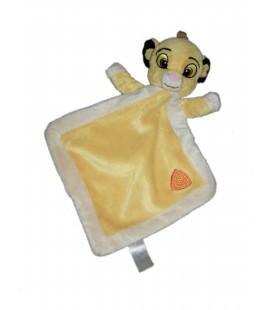 Doudou plat Simba le Roi Lion losange Disney Nicotoy 587/0616