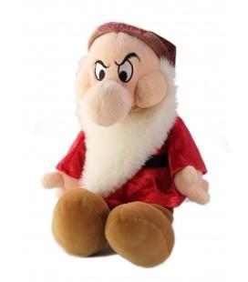Doudou peluche Nain Grincheux Blanche Neige et les 7 Nains Grumpy Walt Disney Store 35 cm