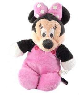 Peluche doudou Minnie pyjama rose 30 cm 587/8910