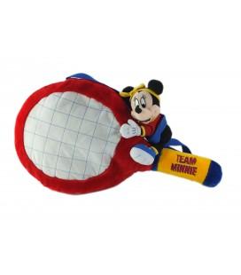 Peluche Team Minnie Raquette de Tennis 50 cm Range Pyjama Disney Jemin Collector