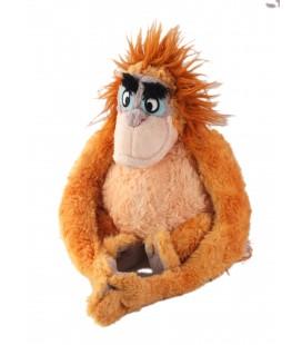 Doudou Peluche Singe Orange Orang Outang Roi Louis Walt Disney 20 cm