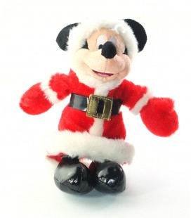 Peluche doudou Minnie Mere Noel 26 cm Disney Disneyland Paris
