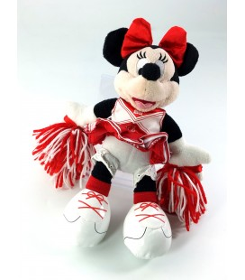 Peluche doudou Minnie High School Musical 26 cm Disney Disneyland Paris