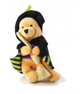 Collector Peluche doudou Winnie Halloween Wizard Sorcier 24 cm Disney Store