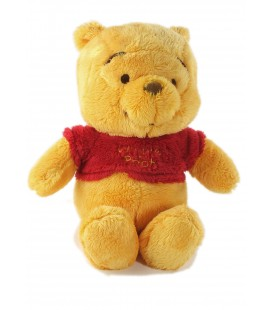 Doudou peluche Winnie The Pooh Nicotoy Disney 28 cm Pull rouge 587/0983