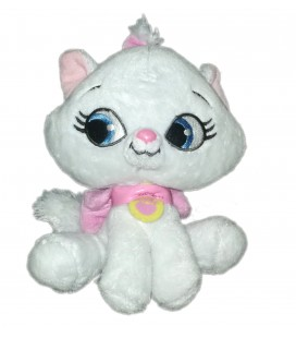 Peluche CHAT Chaton Marie Les Aristochats Pet Shop Disney Nicotoy 15 cm