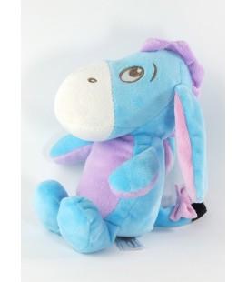 Peluche doudou Bourriquet bleu rose Disney Nicototy 21 cm 587/3109