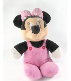 Peluche Minnie pyjama grenouillère rose 32 cm Disney Nicotoy