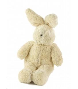Peluche doudou lapin blanc Nounours 35 cm