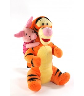 Peluche doudou Tigrou Porcinet 28 cm Disney Nicotoy