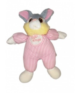 Doudou peluche PANPAN Euro Disney Thumper plush Comforter 32 cm VINTAGE