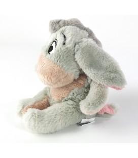 Peluche doudou Bourriquet gris rose Disney Nicotoy 18 cm 5873702