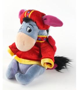 COLLECTOR Peluche doudou Bourriquet deguise ange bonnet rouge ailes 20 cm Disney Store