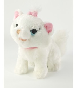 Peluche doudou Chat chaton Marie Aristochats Disneyland Resort Paris 20 cm
