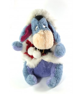Peluche doudou collector Pere Noel assis 30 cm Disney Store Exclusive