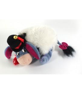 Peluche doudou collector Bourriquet Bonhomme de neige Snowman 18 cm Disney Store