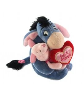 Peluche doudou Bourriquet Porcinet Best Friends 18 cm Disney Store