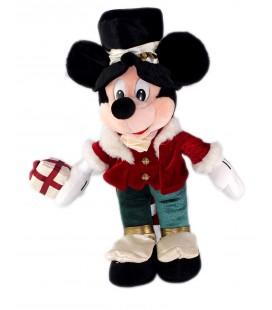 Vintage Peluche Mickey Costume Queue de Pie cadeau 42 cm Disney Disneyland Paris